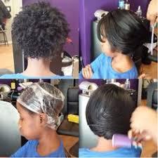 roller wrap hairstyle saran wrap natural hair tutorial foto video