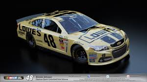 paint schemes nascar the game 2013 reveals dlc with over 80 alternate paints