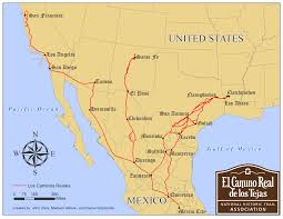 Map Of Durango Mexico by National Park Service And Association Trail Maps El Camino Real