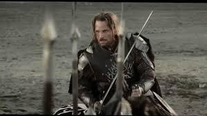 Aragorn Meme - aragorn s battle speech youtube