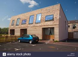 low cost environmentally friendly homes in elmswell village in