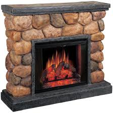 classic flame potomac electric fireplace with synthetic polished