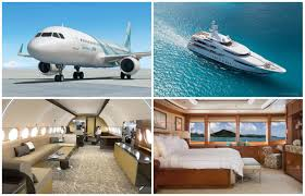 Private Plane Bedroom Private Jets Meet Their Superyacht Match Privatefly Blog