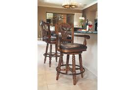 Bar Stool With Arms North Shore Counter Height Bar Stool Ashley Furniture Homestore