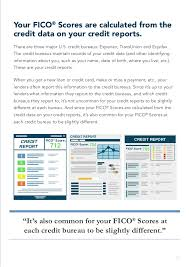 three bureau credit report understanding fico scores myfico