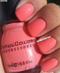 coral nail color cute nails for women