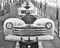 Old Ford Truck Dealers - the first new postwar production car u2013 the 1946 ford the old motor
