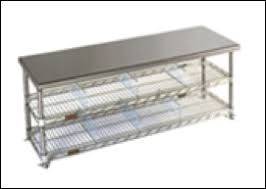 stainless steel gowning bench clean room world blog