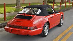 1990 porsche 911 convertible 1990 porsche 911 carrera 2 cabriolet k105 1 kissimmee 2017