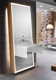 Square Vanity Mirror Decorations Modern Interior Furniture Design Feature Large