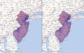 houston map jersey new jersey congressional districts comparison 2001 2011