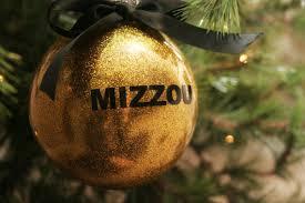 items similar to black or gold mizzou sec ornaments on etsy