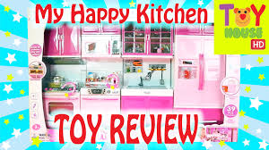 modern kitchen toy my modern kitchen playset toy review youtube