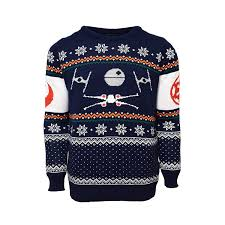 sweater wars official x wing vs tie fighter wars jumper