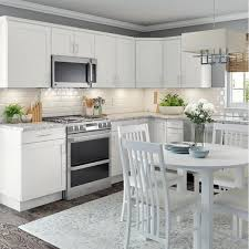 kitchen base cabinets with drawers home depot cambridge shaker assembled 36x34 5x24 5 in all plywood base cabinet w 1 soft drawer 1 soft door in white