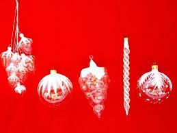 blown ornaments