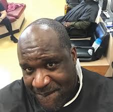Messed Up Hairline - shaq embraces baldie tragic hairline son roasts him the young
