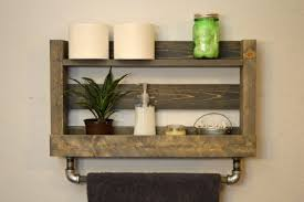 mesmerizing wooden bathroom shelves 14 wooden bathroom shelf plans