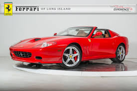 ferrari superamerica used 2005 ferrari 575 superamerica for sale plainview ny