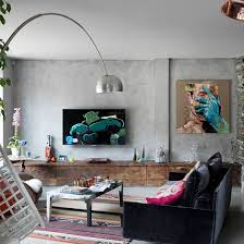 Eclectic House Decor - stylish eclectic home in london with industrial twist interior
