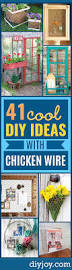 Chicken Home Decor by 41 Genius Rustic Decor Ideas Made With Chicken Wire Diy Joy
