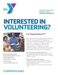 Ymca Of South Florida Explore The Types Of Volunteer Opportunities At The Ymca Ymca
