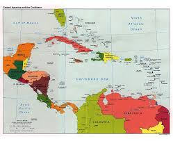 Map In Spanish Of South America With Capitals In Spanish Maps And Central Map And