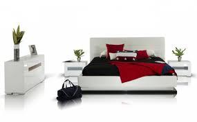 Modern Platform Bed With Lights - modrest infinity contemporary platform bed with lights modern