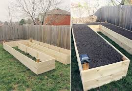 Garden Box Ideas How To Build A U Shaped Raised Garden Bed Icreatived