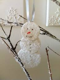 137 best snowman crafts images on ornaments