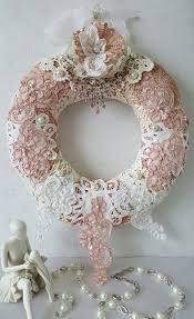 best 25 vintage wreath ideas on pine cone decorations
