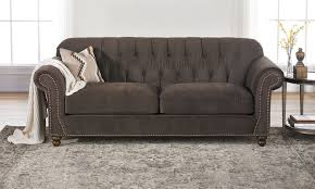 Klaussner Couch Klaussner Flynn Sofa With Nail Head Trim The Dump America U0027s