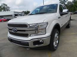 2018 ford f150 king ranch 5 miles white platinum tc crew cab