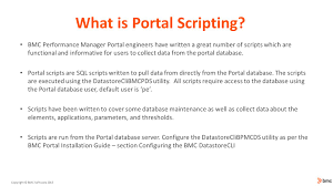bmc performance manager portal webinar series ppt download