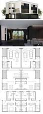 100 duplex design plans modern duplex house design in 126m2