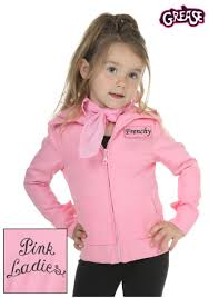 kid grease halloween costumes toddler authentic pink ladies jacket