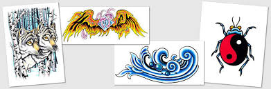 tattoo designs u0026 symbols wings wolf water dragons yin yang