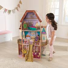 Amazon Com Kidkraft Belle Enchanted Dollhouse Toys U0026 Games