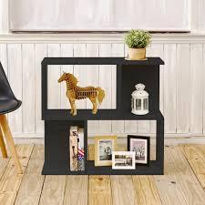2 Shelf Black Bookcase Way Basics Soho 2 Shelf 11 2 X 32 1 X 30 2 Zboard Black Wood Grain