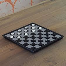 Chess Table Amazon Amazon Com 2 In 1 Travel Magnetic Chess And Checkers Game Set
