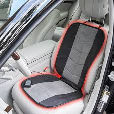 cushions best heated car seat covers heated recliner cover wagan