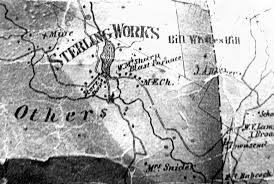 Sterling Virginia Map by Warwick Valley History