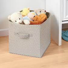 Baby Wardrobe Organiser Interdesign Chevron Fabric Closet Storage Organizer Cube For Toys