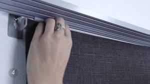 how to install blinds com super value sliding panels video gallery