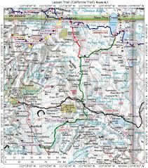 Pony Express Route Map by Historic Routes Paths Roads Trails Ca Or Wa