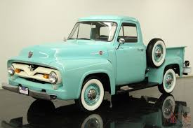ford f100 pickup 223ci 6 cylinder 3 speed restored chrome bumpers