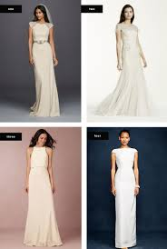 wedding dress type the most flattering wedding dresses for your type verily