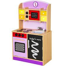 kit de cuisine enfant cuisine dinette cuisinière en bois pour enfant jeux jouet moderne