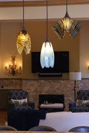 pendant lights custom hand crafted fused glass pendant lights and sconces