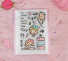 Stamp On Right Or Left Stamps For Planners U0026 Papercrafting U2013 The Sassy Club Llc